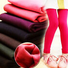 Kids Girls Leggings Toddler Holiday Fleece Stretch Thermal Trousers Winter Pants