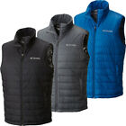 $90 New Mens Columbia 'Crested Butte' Thermal Insulated Omni-Heat Vest