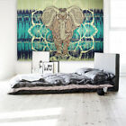 Indian Mandala Tapestry Hippie Wall Hanging Blue Bohemian Bedspread Dorm Decor