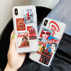 Coca Cola Shockproof Soft Phone Case Cover For Phone X XS Max XR 6 7 8 Plus New £3.49  on eBay