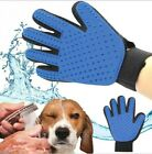 Pet Grooming Glove Brush Dog Cat Dirt Hair Fur Remover Removal Gentle Deshedding
