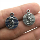 Seahorse Antique Silver Charms Pendant DIY Jewelry Finding 1914mm 20 50pcs