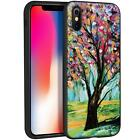 IPHONE x 10 Cover with Motif Bumper Cover Case Pouch Mobile Phone Case