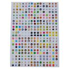 new nice 300pcs home button sticker for iphone4/4s/5,ipad H7I9
