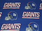 NFL New York Giants Cotton Fabric FQ, 1/4 yd or 1/2yd $7.95 USD on eBay