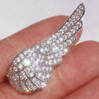 1.3Ct 14K White Gold Finish Diamond Open Angel Wing Charming Ring UPR6--3