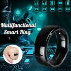 NFC Smart Ring Multifunctional Magic Wearable Mobile Phone For IOS Black