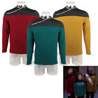 Star Trek TNG Captain Picard Red Uniform Top Jacket Voyager DS9 Yellow Costumes on eBay