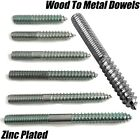 M3 M4 M5 M6 M8 M10 WOOD TO METAL DOWELS DOUBLE ENDED...