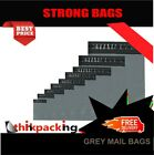 10x Grey Mailing Bags 9x12 Strong Post Mail Postage Poly Bag Postal Self Seal A4