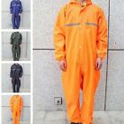 US Motorcycle Rain Suit Raincoat Overalls Waterproof Mens Work Jumpsuit Outdoor $31.73 USD on eBay