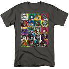 The Transformers Character Square 80's Cartoon Officially Licensed Adult T-Shirt image