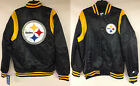 Pittsburgh Steelers Starter NFL Retro Authentic Satin Jacket Throwback Black $42.0 USD on eBay