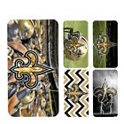 New Orleans Saints iphone 11 11 pro max galaxy note 10 10 plus wallet case $17.99 USD on eBay