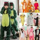 Christmas Kids Girls Boys Pajamas Animal Cosplay Costume Props Nightwear Unisex