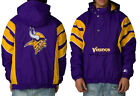 Minnesota Vikings Starter NFL Retro Authentic Pullover Zip Jacket Throwback $109.99 USD on eBay