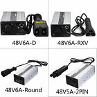 New Golf Cart Battery Chargers 48V With D/RXV/Round/2PIN Plug Style Connector