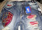 NBA Cleveland Cavaliers Heritage America UNK Jeans - New w/Tags MSRP:$108 on eBay