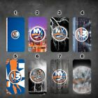 New York Islanders iphone 11 11 pro max galaxy note 10 10 plus wallet case $17.99 USD on eBay