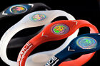 POWER BALANCE NEGATIVE ION ENERGY STRENGTH FLEXIBILITY BRACELET  MULTI COLORS