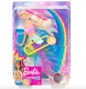 Girls Barbie Doll Sparkle Lights Mermaid Glowing Toy Princess Fashion Pink Gift