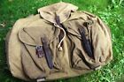 WW2 German Wehrmacht Backpack very late War Time made, stamps inside