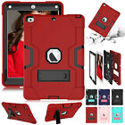 For iPad 10.2' 7th Gen 2019 Shockproof Hybrid Heavy Duty Armor Stand Case Cover