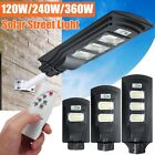 360W 351LED Solar Wall Street Light PIR Motion Sensor Outdoor Garden Lamp+Remote