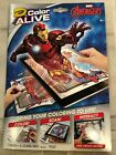 Crayola Color Alive Avengers Coloring Book w/Crayons