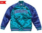 Authentic & Mitchell & Ness CHARLOTTE HORNETS NBA Tough Seasons Satin Jacket on eBay