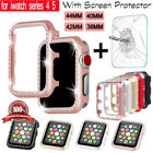 Apple Watch Series 5 4 Bling Bumper Case Cover Screen Protector iWatch 40 44mm image