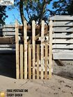 BESPOKE WOODEN GARDEN GATE PICKET STYLE GARDEN GATE MADE TO MEASURE 5ft HIGH