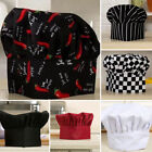 Elastic Chef Hat Party Kitchen Baking Cooking Costume Cap For Adult Kids
