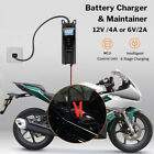 6-12V 2-8AH Car Automatic Pulse Repair Maintainer Battery Charger Intelligent LC