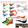 CNC Motorcycle Motorcross Pivot Dirtbike Levers Gas Cap Grips Guards Parts Types