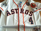 New Tag White Houston Astros #4 George Springer WS 3Patches sewn Jersey Men on Ebay