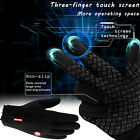 2019 New Three Fingers Touch Screen Gloves Zipper Thermal Winter Warm Mittens $9.99 USD on eBay
