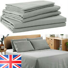 100% Cotton 4pcs Complete Set / Fitted sheet and Pillow case