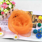 Women Ladies 50s Square Chiffon Neck Head Scarf Scarves Wrap Soft Stole Shawl