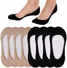 No Show Socks For Women Casual Low Cut Sock Liners With Non Slip Grips Women'S C