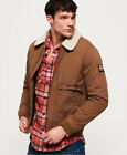 Superdry Mens Rookie Winter Aviator Bomber Jacket