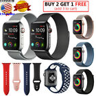 Kyпить For Apple Watch Band Strap Series 5 4  44mm 42mm Milanese Nylon Silicone Sport на еВаy.соm