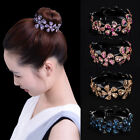 Women Girls Hair Clip Crystal Claw Ponytail Bun Holder Comb Hairpin Fashion Gift