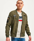 Superdry Rookie Aviator Patched Bomber Jacket