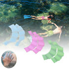 Silicone Swim Gear Fins Hand Web Flippers Training Diving Gloves Webbed Gloves