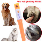 Electric pet dog cat pedicure grinder clipper claw toe nail trimmer MF