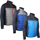 ProQuip Mens Therma Pro Quilted Full Zip Golf Jacket