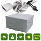 Waterproof Garden Patio Furniture Cover Rattan Dining Table Cube Seat Outdoor US