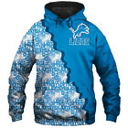 Detroit Lions Hoodie Hooded Pullover Sweatshirt S-5XL Football Team Fans Gifts $38.85 CAD on eBay
