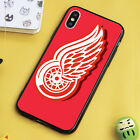 Detroit Red Wings Hockey Logo iPhone 6 7 8 XS 11 SE L41 Samsung S6 S7 S9 case $11.49 USD on eBay